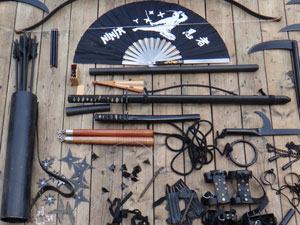 A phenomenal vintage weaponry collection