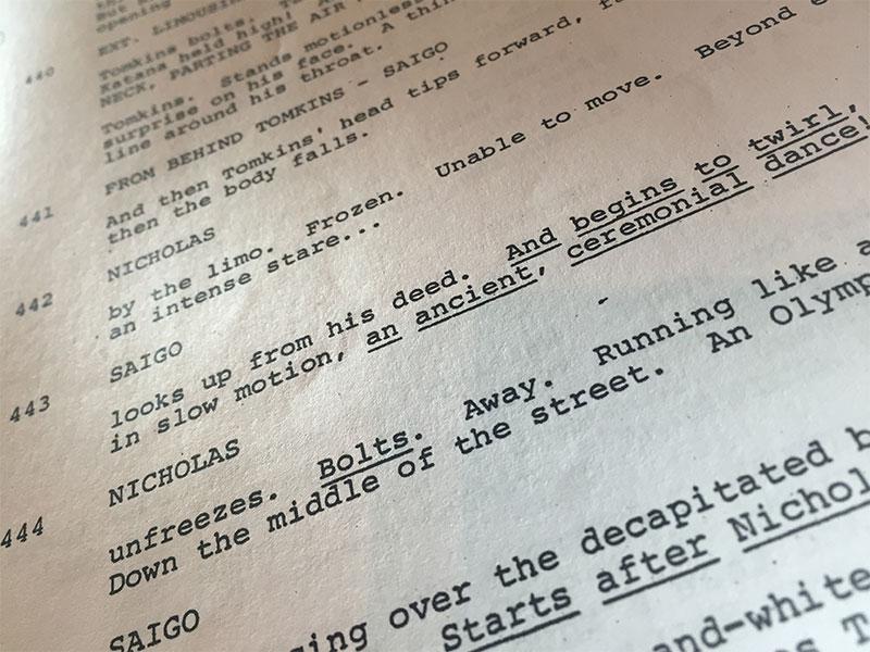 Ninja-script-text