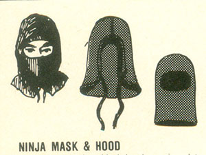 Some 1985 Ninja Apparel