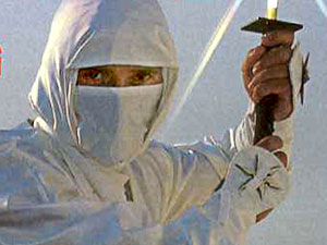 MIKE STONE: 'THE FIRST NINJA'