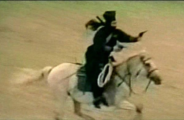 kaiketsu-horseback