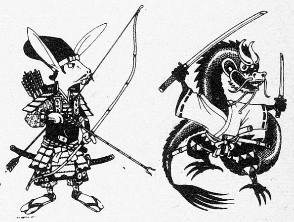 The Budo Zodiac – Vintage Ninja |Chinese Sign For Karate